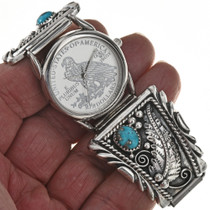 Navajo Turquoise Watch 23032
