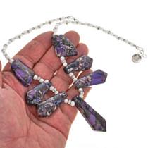 Southwest Style Purple Choker 29306
