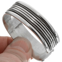 Native American Silver Bracelet 12885