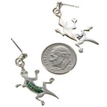 Southwest Gemstone Dangle Earrings 14460