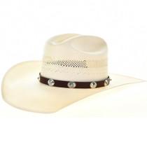 Turquoise Concho Hatband 22100