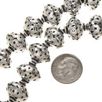 Silver Basket Beads 252932