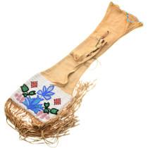 Vintage Cree Indian Beaded Pipe Bag 31403