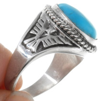 Navajo Silver Thunderbird Ring 27102