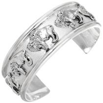 Silver Buffalo Handmade Cuff 25916