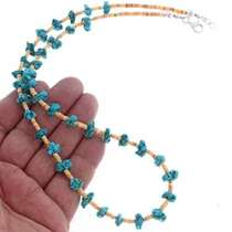 Navajo Nugget Necklace 25296