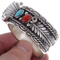 Navajo Turquoise Cuff Watch 24520