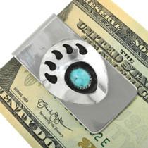 Sleeping Beauty Turquoise Money Clip 23865