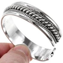 Silver Handmade Cuff Bracelet 26841