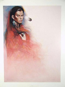 Navajo Woman Limited Edition Litho Print 35718