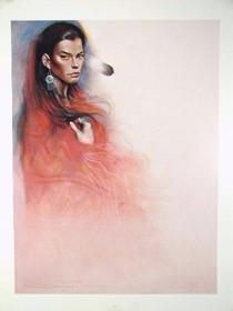 Navajo Woman Limited Edition Litho Print 35718