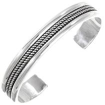 Navajo Sterling Silver Cuff Bracelet 12721