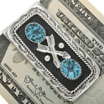 Authentic Southwest Turquoise Money Clip 26827