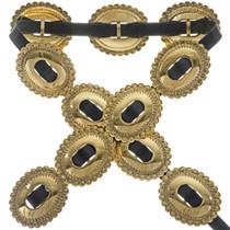 Apache Gold Indian Concho Belt 19712