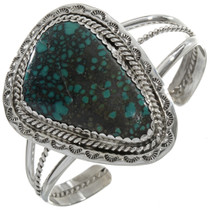 Turquoise Single Stone Navajo Cuff 28342