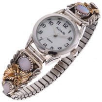 Navajo Ladies Gold Watch 24513