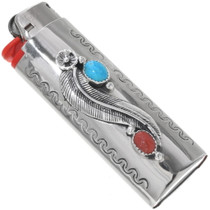 Turquoise Coral Bic Lighter Case 23006