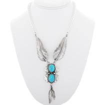 Kingman Turquoise Necklace 26320