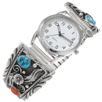 Turquoise Coral Mens Watch 28950