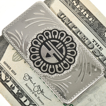 Kachina Silver Money Clip 28985