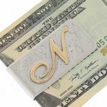 Custom Gold Silver Money Clip 25183