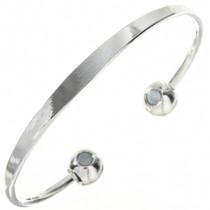 Silver Copper Magentic Bracelet 29059