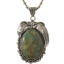 Battle Mountain Turquoise Pendant 28676
