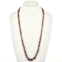 Native American Turquoise Heishi Shell Necklace 29445
