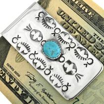 Hammered Silver Money Clip 29888