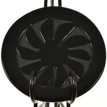 Belen Tapia Incised Blackware Plate 28889