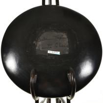Santa Clara vintage Blackware Plate 28889