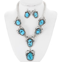 Turquoise Necklace Set 25805