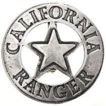 California Ranger Silver Badge 29000