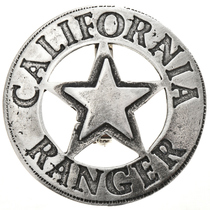 California Ranger Silver Badge 29000