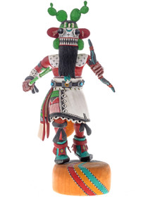 Authentic Cactus Kachina 22502