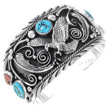 Eagle Turquoise Cuff Bracelet 25243