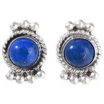 Lapis Sterling Post Earrings 28892
