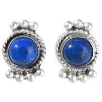 Lapis Sterling Post Earrings 28892
