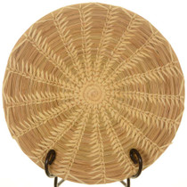 Vintage Wheat Stitch Basket 25780