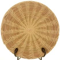 Vintage Wheat Stitch Basket 25780