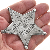 Western Silver Star Badge 29003