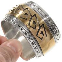 Gold Silver Southwest Cuff 11862