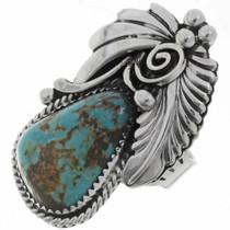 Turquoise Silver Ladies Ring 27130