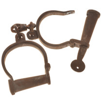 Early Style Working Handcuffs 18706