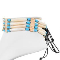 Traditional Hairpipe Bone Choker 15311
