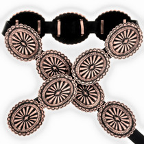 Navajo Copper Concho Belt 24054