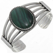 Navajo Malachite Ladies Bracelet 25853