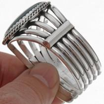 High Grade Malachite Cuff Bracelet 25853
