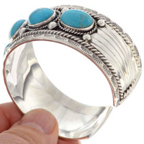 Turquoise Mens Cuff Bracelet 16237