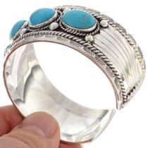 Turquoise Mens Cuff Bracelet 16237